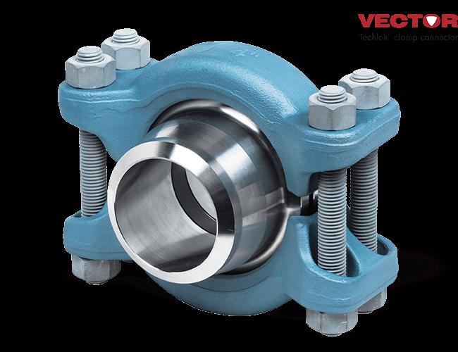 Vector Techlok Clamp Connector - Freudenberg Oil & Gas