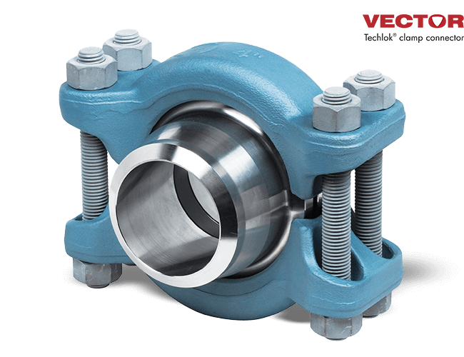 Vector Techlok Clamp Connector