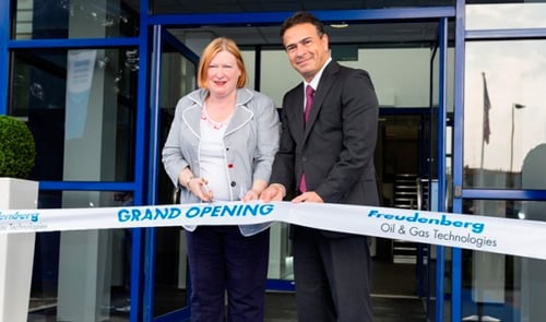 Freudenberg Oil & Gas Technologies opens new, expanded facility in Wales